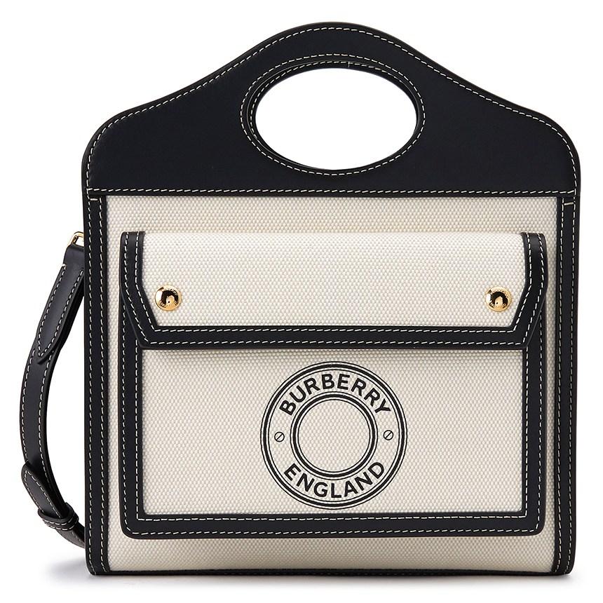 버버리 미니 로고 그래픽 POCKET BAG 8028058 여자 포켓백