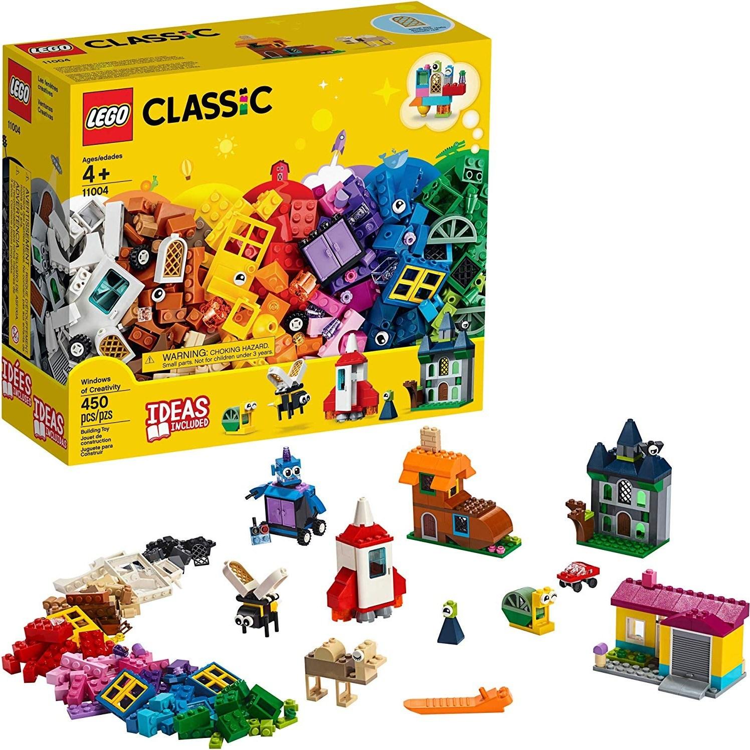LEGO 레고 클래식 창의력의 창문 450 피스 11004, 단일제품