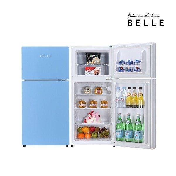 [벨] 글라스 냉장고 SR-D13AS 127L 1등급 미니 소형 레트로냉장고, 상세 설명 참조 (POP 118545556)