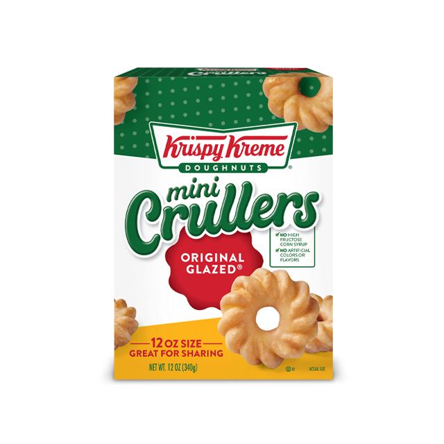 크리스피 크림 도넛 크럴러 오리지널 글레이즈 12개입, 340g