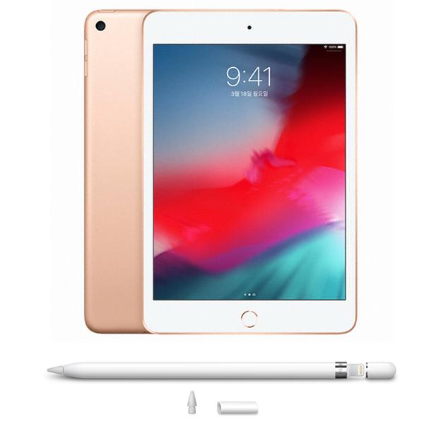 애플 아이패드 미니5 + 애플펜슬 1세대 Wi-Fi 256G 골드 (MUU62KH A) 애플코리아, 선택하세요