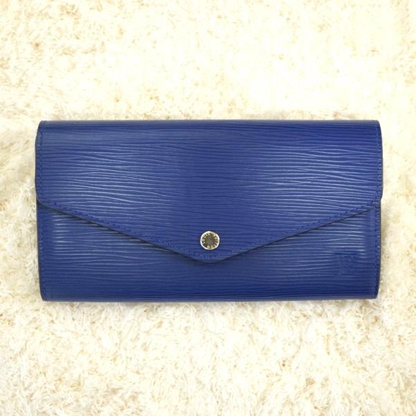 [와이즈럭스]루이비통 사라 월릿 장지갑 FLO