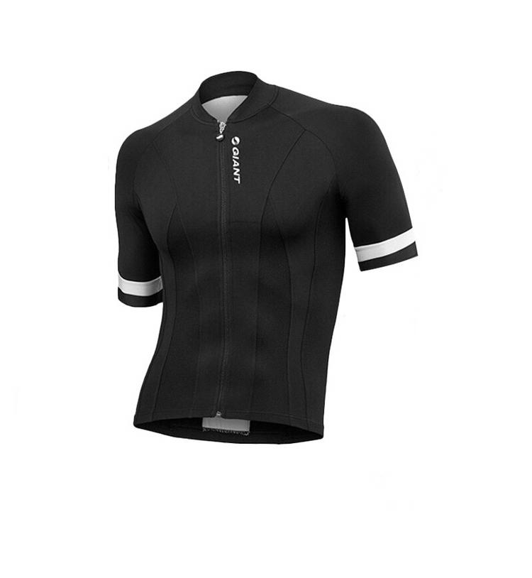 GIANT 블랙 심플 사이클복 자전거 사이클바지 져지 빅사이즈 여름 반팔 라이딩복 세트