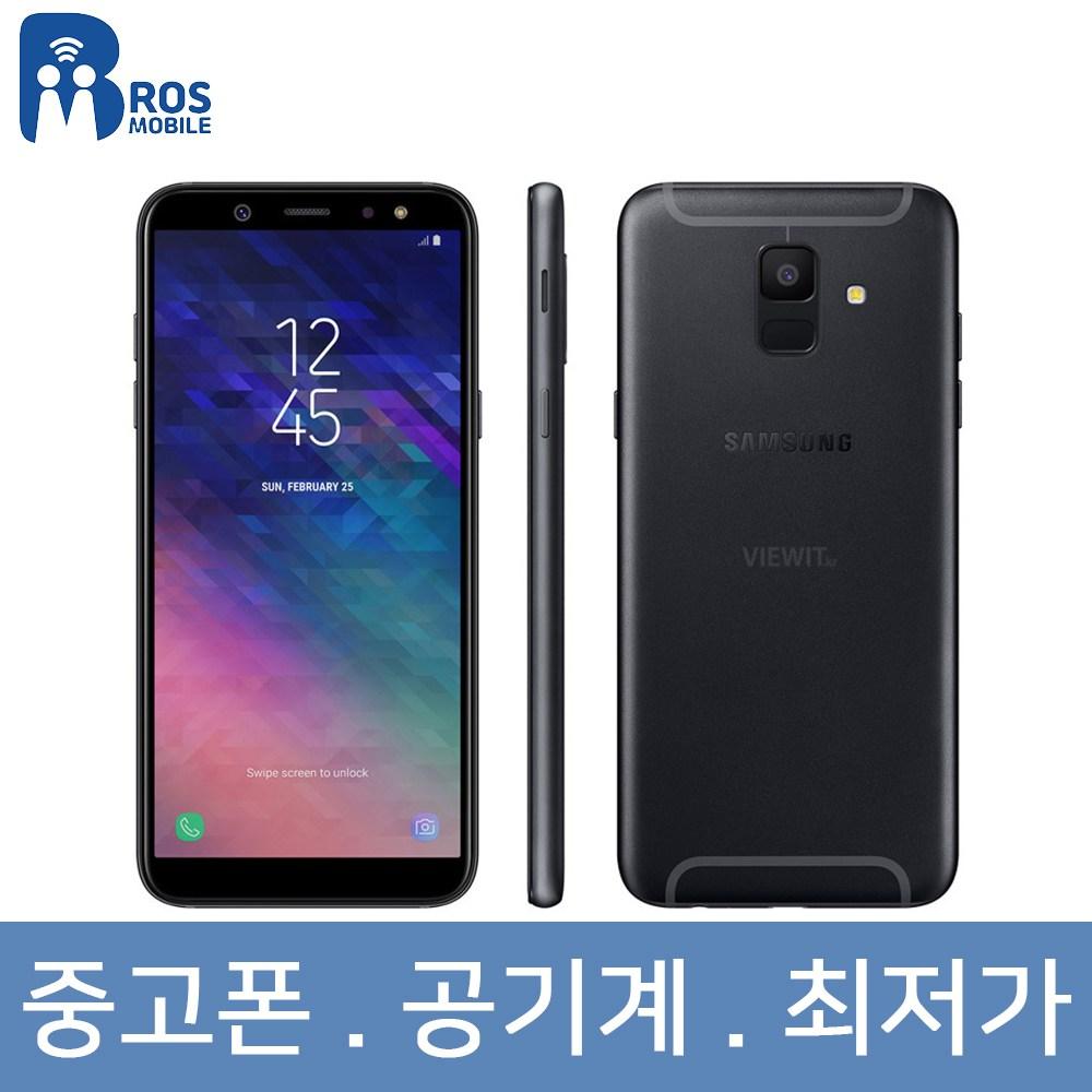 Samsung Galaxy A6 32 GB Unlocked Cell Phone in Black, A6 블랙 B+급 32G 유심기변, 중고폰 공기계 3사호환