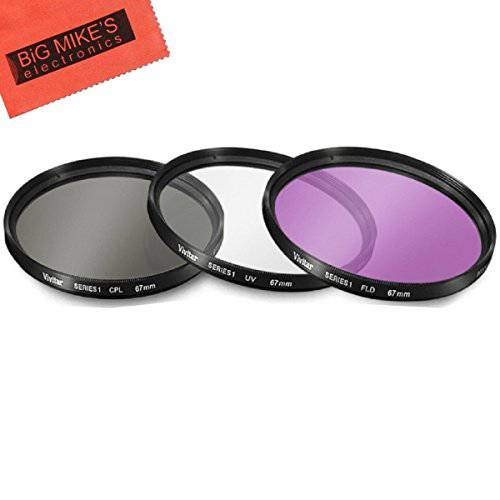 49mm 3 Piece Filter Kit UVCPLFLD for Sony 1855mm DT EM13533236 상세내용참조
