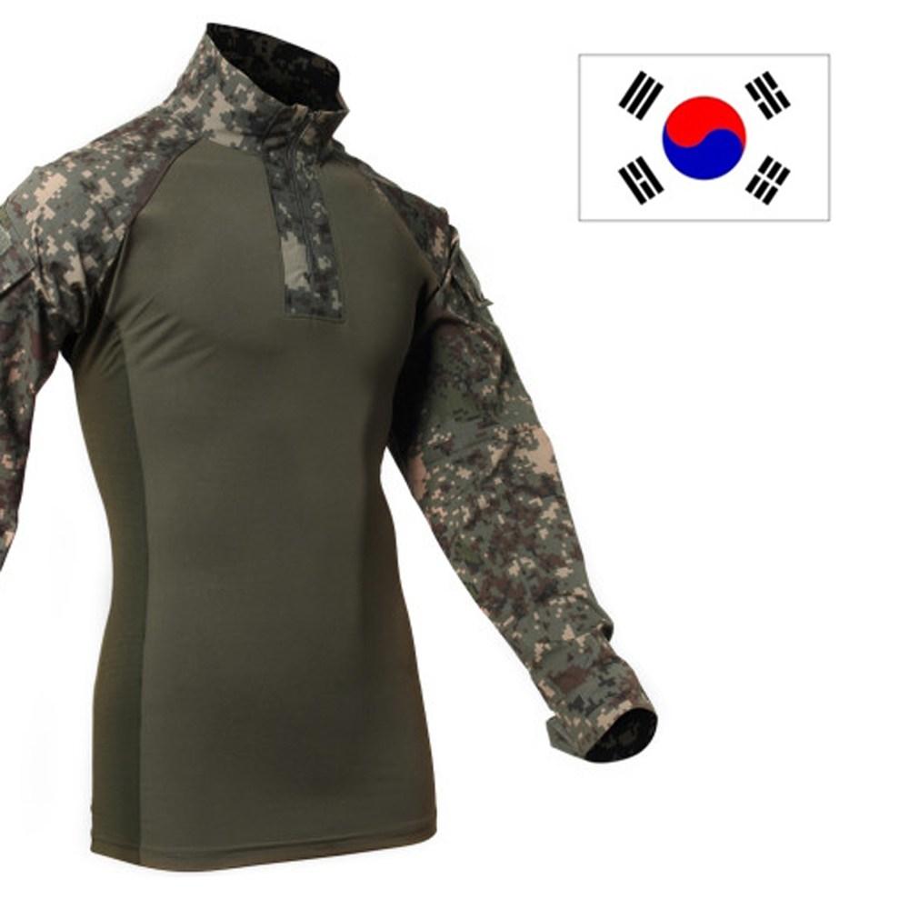 아미캠프 전술 컴뱃 셔츠 택티컬 군인 밀리터리 군용 티셔츠