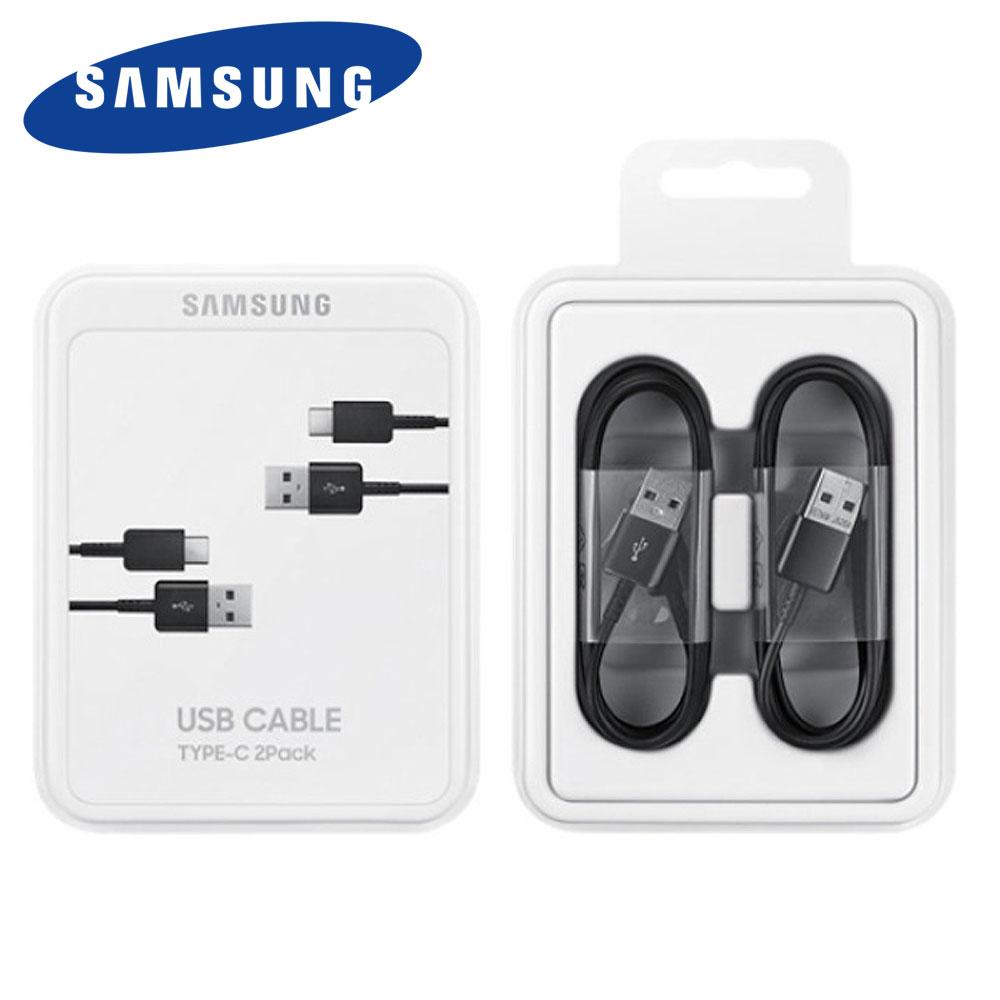 삼성 삼성정품 C타입 고속충전케이블 패키지포장 EP-DG930M 블랙 1.5M 2ea 정품박스