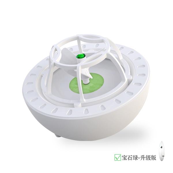 초음파식 미니 휴대용 간단한 usb출력 식기 세척기, 한개옵션1, 초록