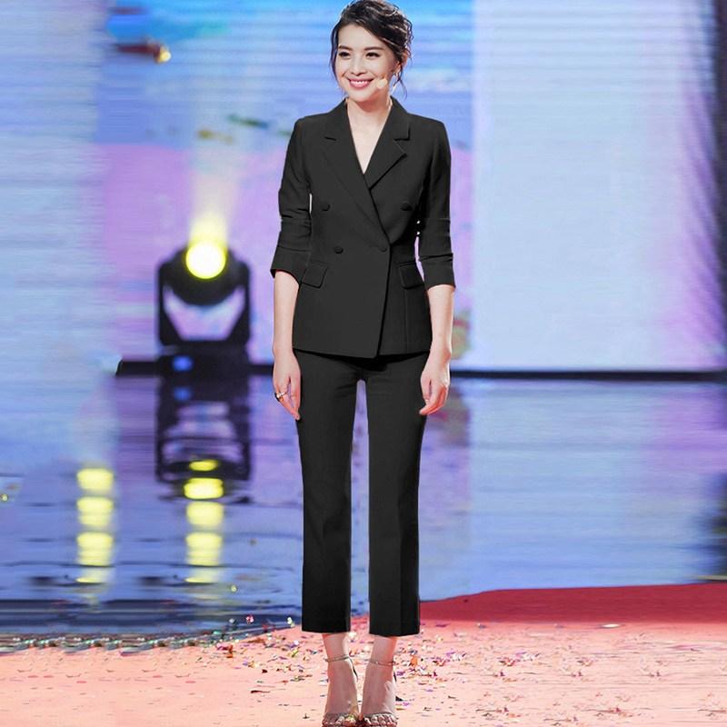 SHINHAP 신합 여성 오피스 룩 양복세트 정장 수트 세미정장