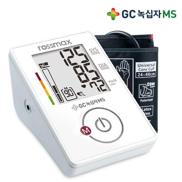 GC녹십자MS 로즈맥스 자동 가정&전문가용 혈압계 CG155f 팔뚝형 혈압측정기 더나은출고 녹십자총판, 아답터(비포함), 1개