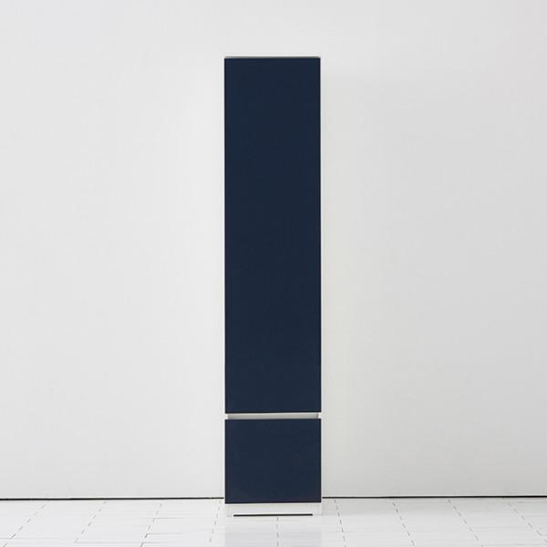 [스스디] [스디]키큰 주방수납장 틈새수납장 2단, 색상:화이트