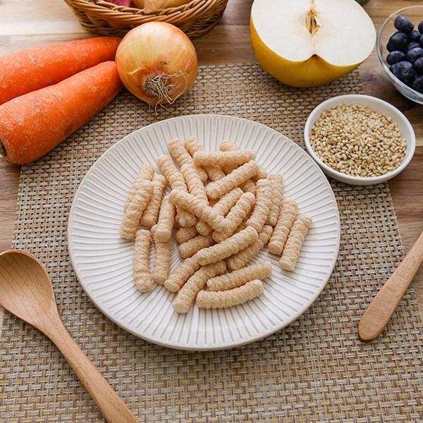 자연맛남 유기농쌀과자 현미양파스틱 70g