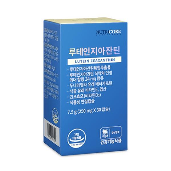 뉴트리코어 루테인지아잔틴 (비타민D함유)
