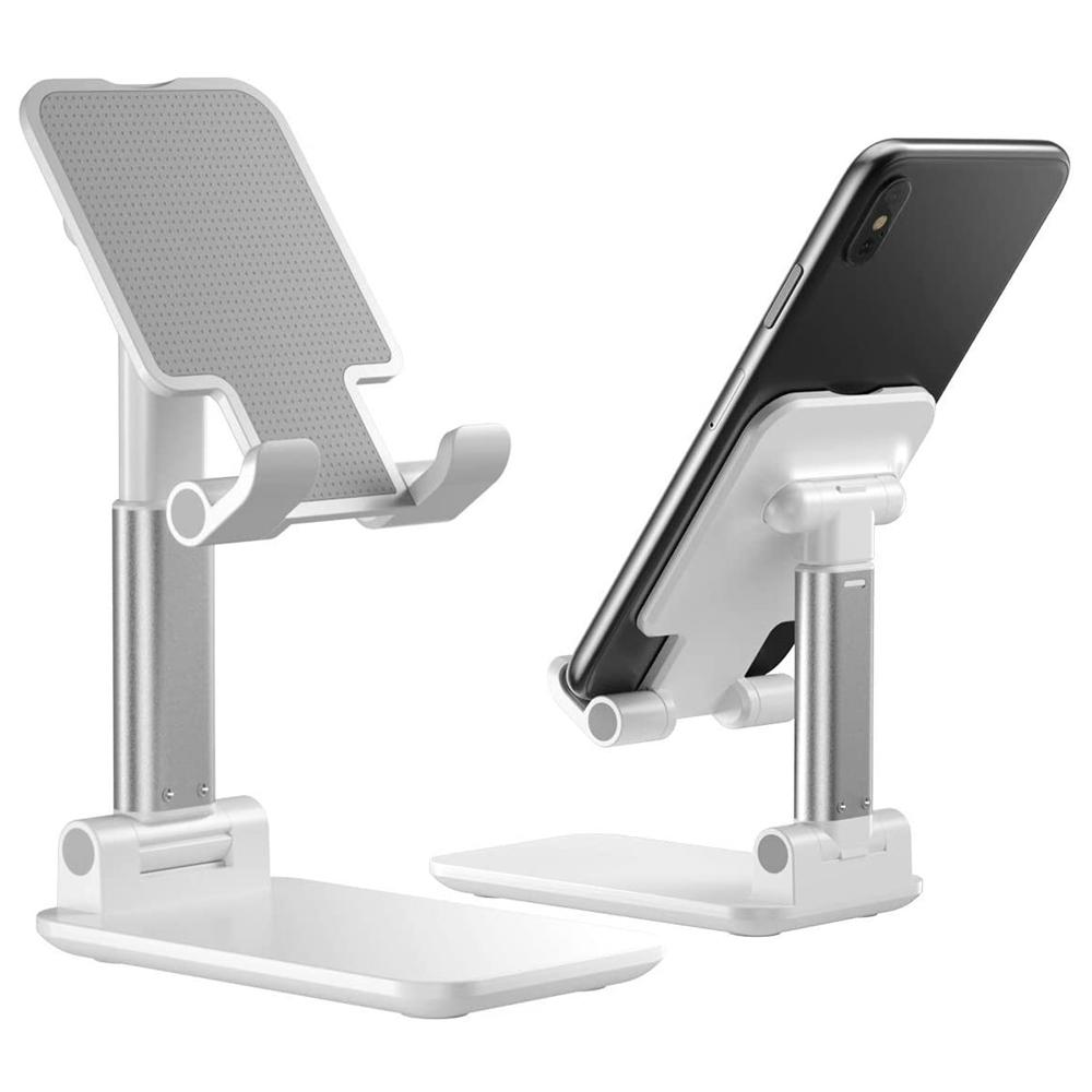 바이미니멀 핸드폰 거치대 스마트폰 스탠드 아이패드 아이폰 태블릿 휴대용, 1개, 블랙