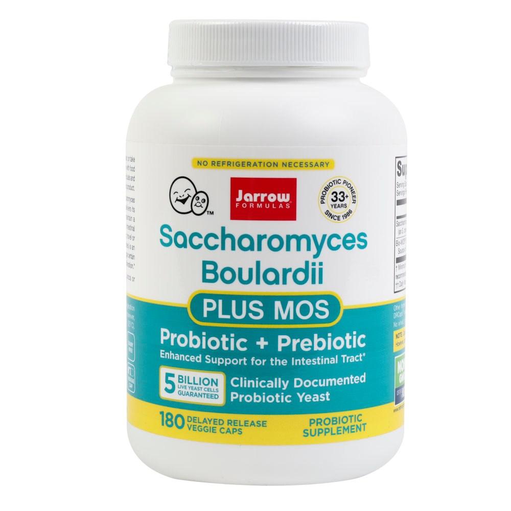 재로우 사카로미세스 보울라디 + MOS 유산균 베지 캡, 180개입, 1개