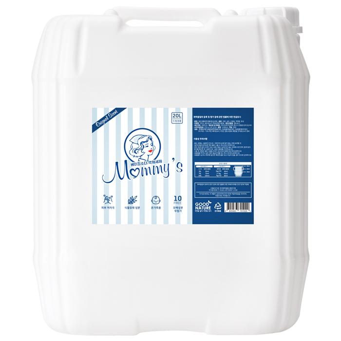 마미스 액체세제 대용량 20L, 1개