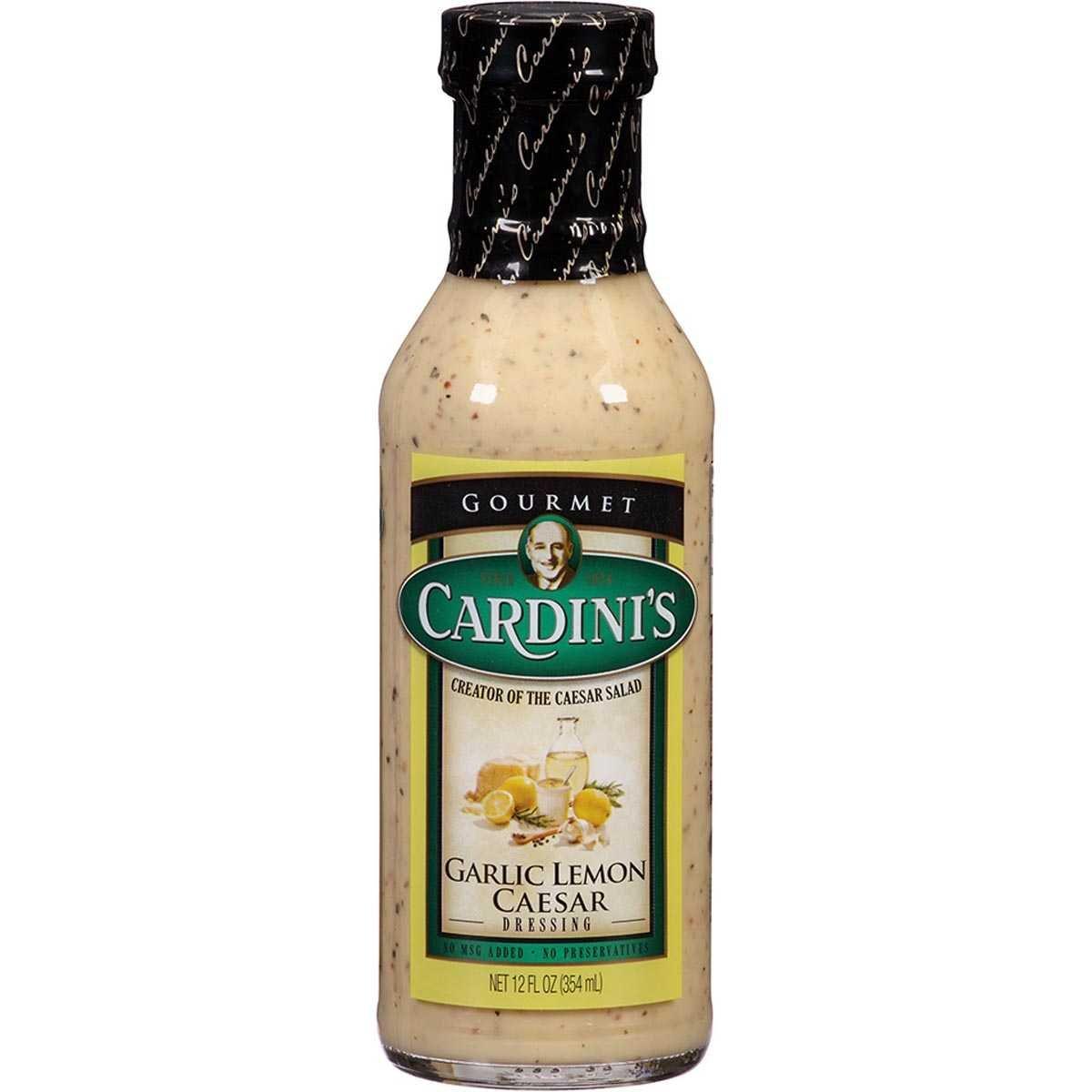 카디니스 갈릭 레몬 시져 드레싱, 1개, 354ml