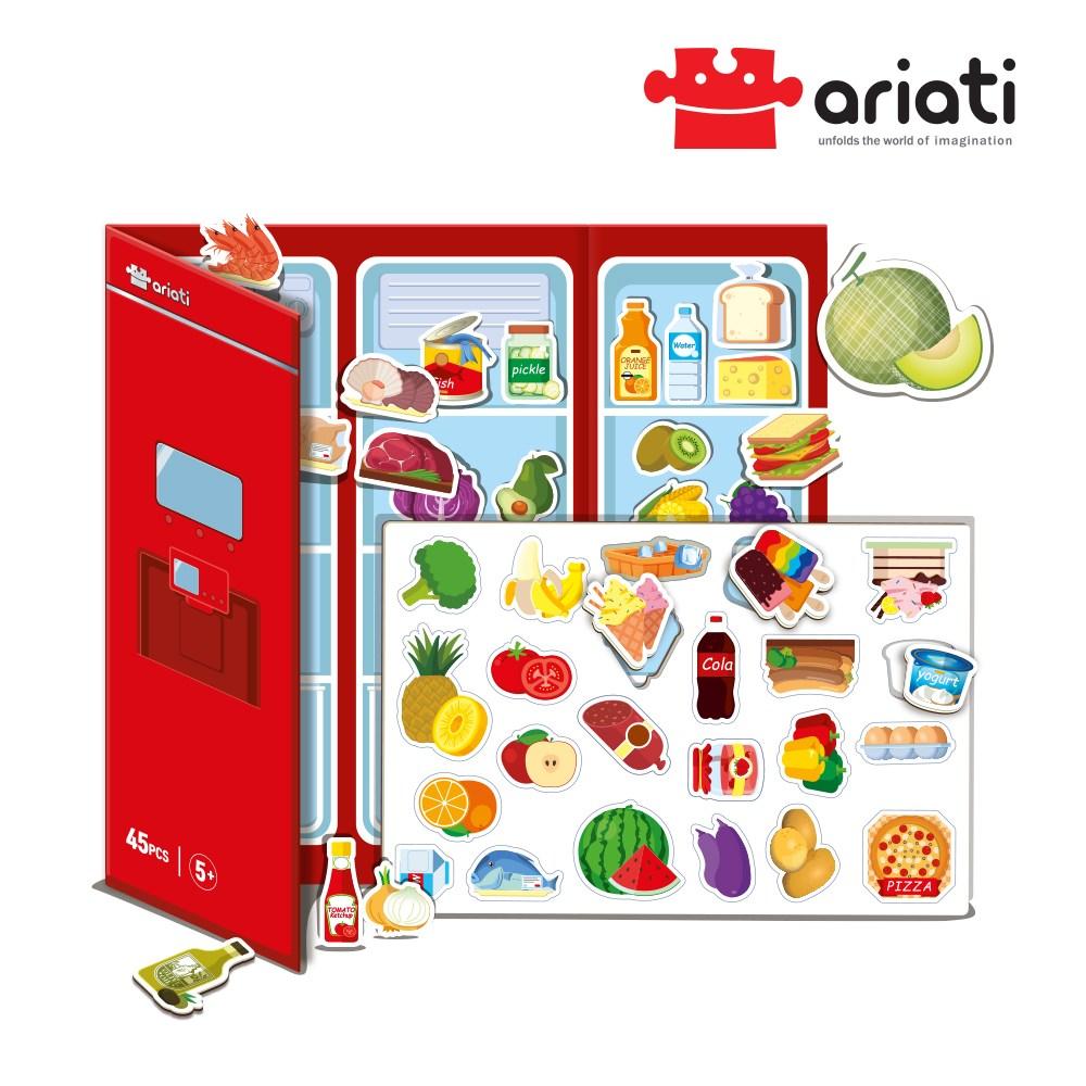 [아리아띠] 냉장고 놀이 유아자석퍼즐