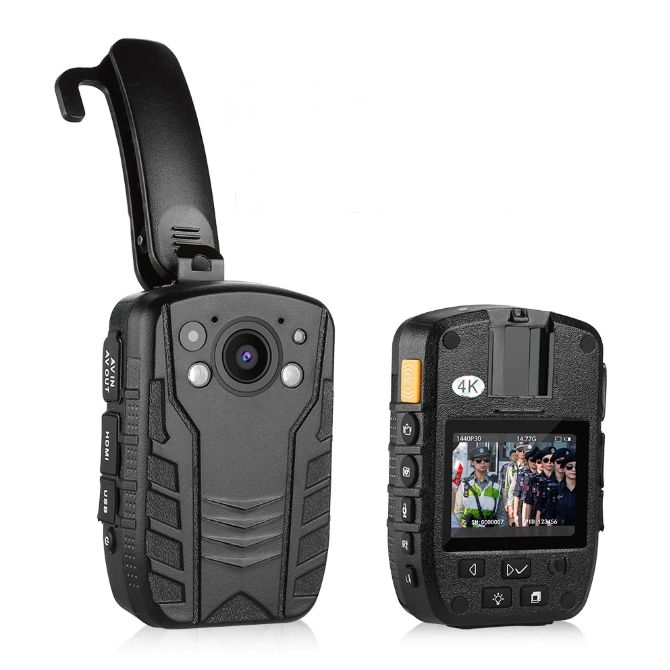 Z6 바디캠 경찰카메라 9시간 연속녹화 4K 초고해상도 보안 블랙박스 64G메모리 포함 캠코더, Z6 바디캠(64G 포함)