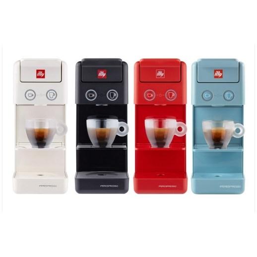 illy 일리 Y3.3 커피머신 화이트 블랙 레드 독일무료직배송 관부가세포함