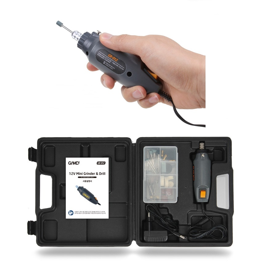 GAMCI(감씨) 미니 전동 그라인더 소형 다용도 핸드 우드카빙 나무 조각기 연마기 절삭기-24-1107970897