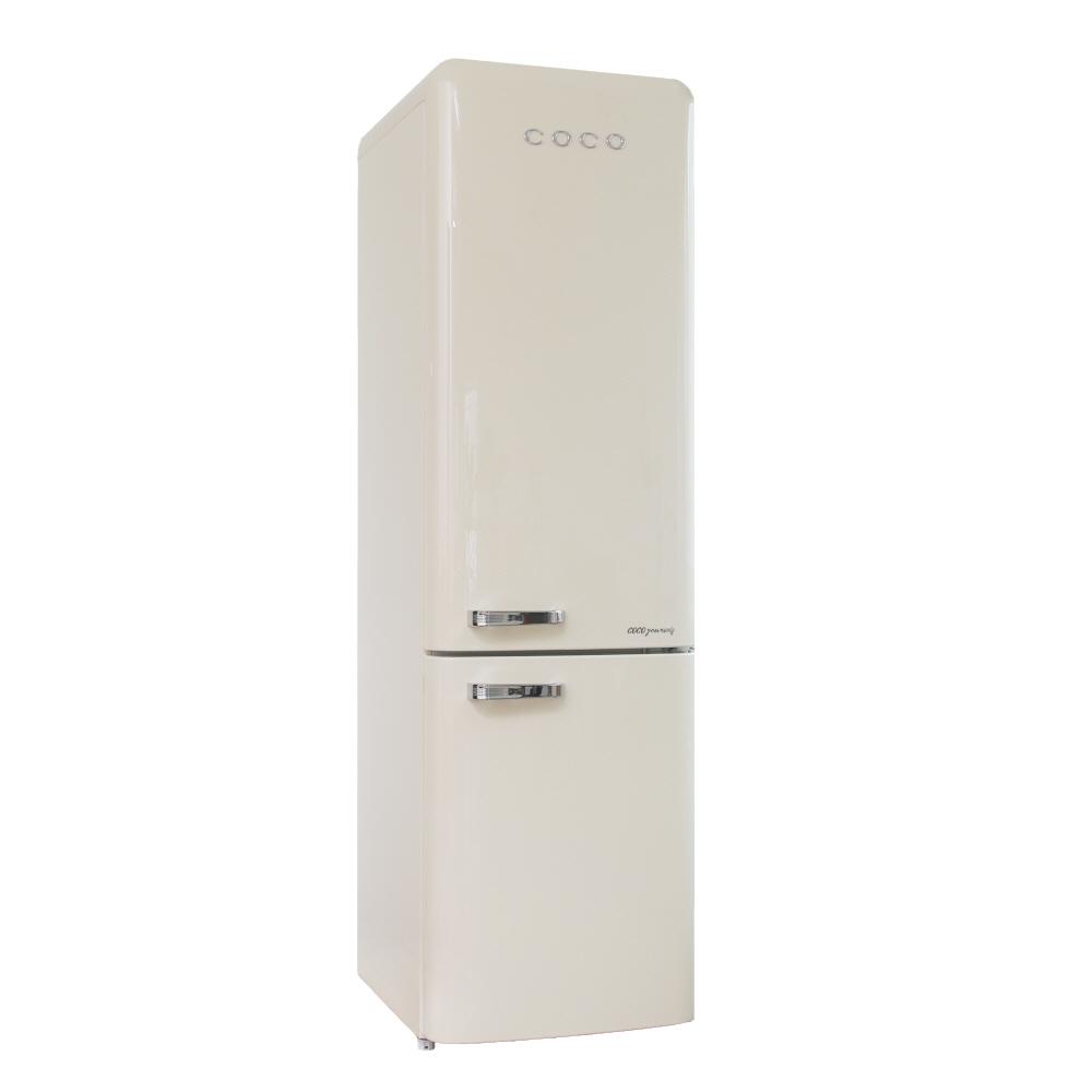 [COCO] 코코일렉 레트로 예쁜 사무실 2도어 음료수 냉장고 CAQ25CC 250L