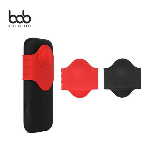 [바보사랑] bob 인스타360 ONE X 렌즈 버튼 실리콘 보호캡 insta360 ONE, 옵션/색상:렌즈보호실리콘캡/레드
