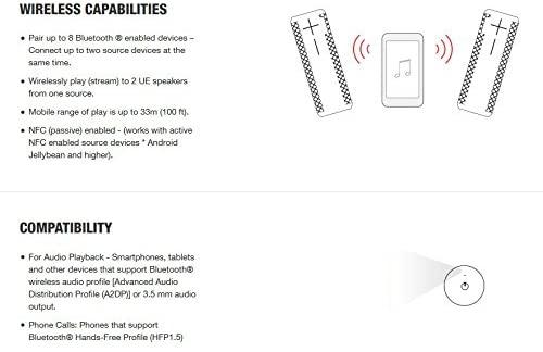 블루투스스피커 Ultimate Ears BOOM 2 Portable Waterproof & Shockproof Bluetooth Speaker - Brain Freeze Blue Edition-B014M8ZTJC, Phantom Edition - Core Lineup (POP 4866485211)