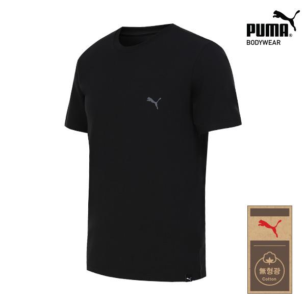 [TOP] 푸마 무형광 코튼 언더셔츠 1종 베이직 블랙