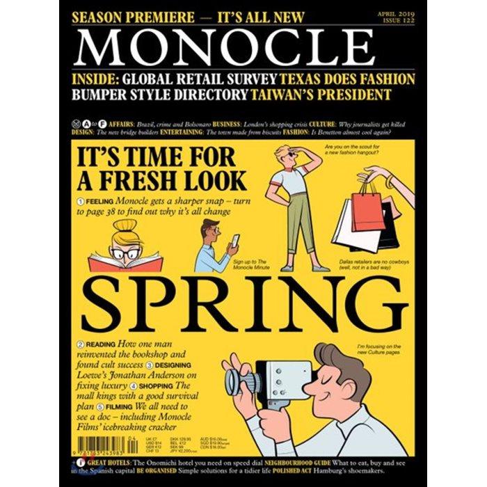 Monocle (월간) : 2019년 04월 : #122