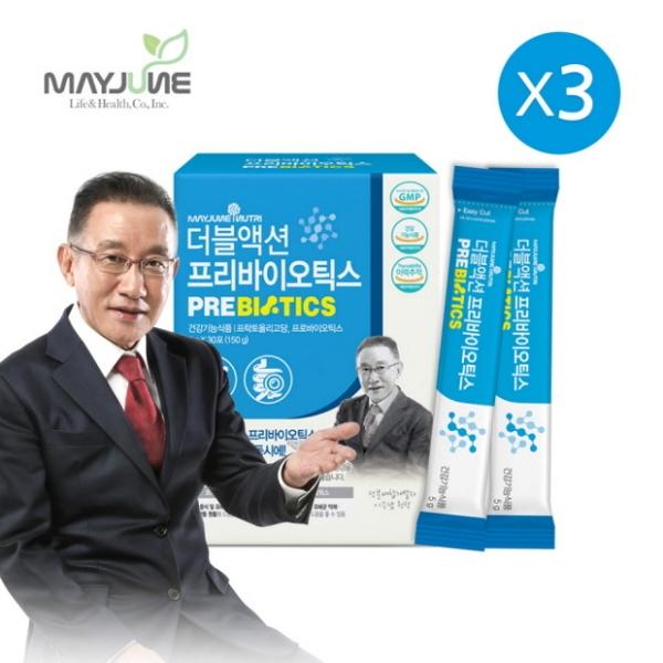메이준뉴트리 이승남 원장의 더블액션 프리바이오틱스 3박스 (3개월분), 기타