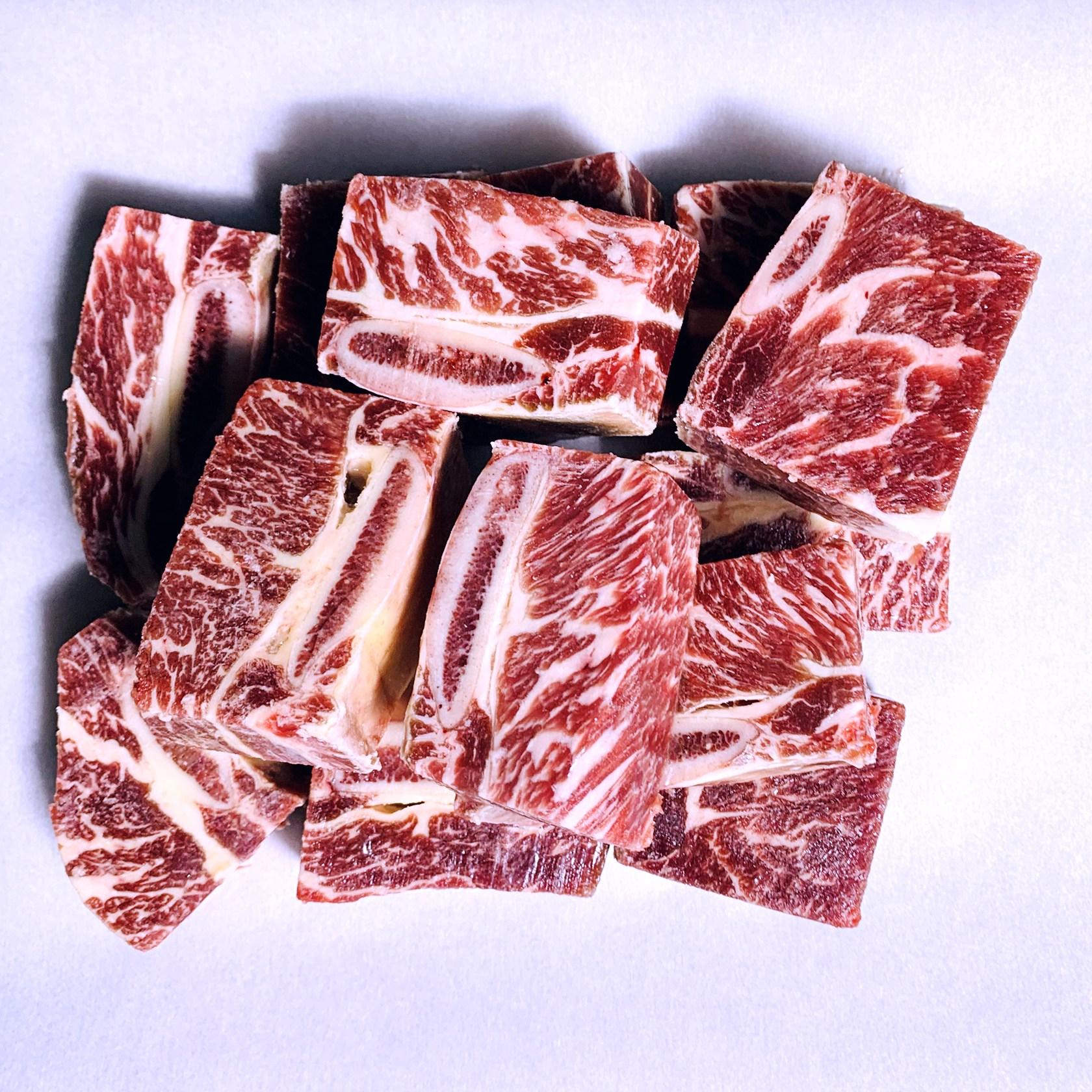 [고기선생] 지방 완벽제거 소갈비 찜갈비 호주산 뉴질랜드산, 1개, 호주산 1kg