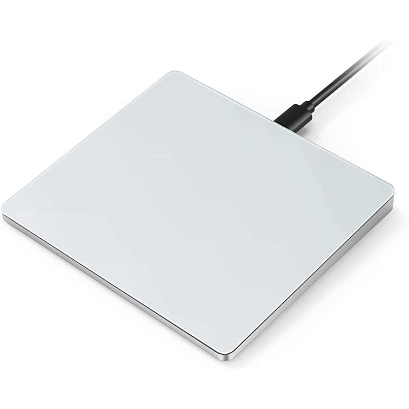 윈도우 7 및 윈도우 10 컴퓨터 노트북 PC 랩톱용 USB 터치패드 젤리 콤 멀티 터치 와이어드 정밀 트랙패드, 상세페이지 참조