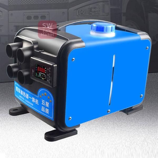 무시동 히터 12v24v220v 통용 휴대용온풍기 캠핑난로, 단품