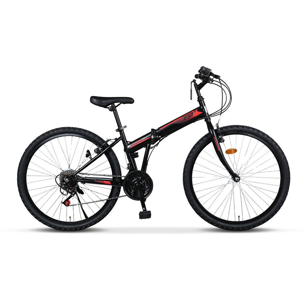 삼천리자전거 하운드 FD21 26인치 자전거 접이식 접이형 MTB 생활, 블랙