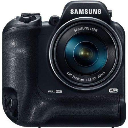 Samsung WB2200F 16.4 Megapixel Compact Camera - Black - 3 LCD - 60x Optical Zoom - Optical (is) - 46, 상세 설명 참조0