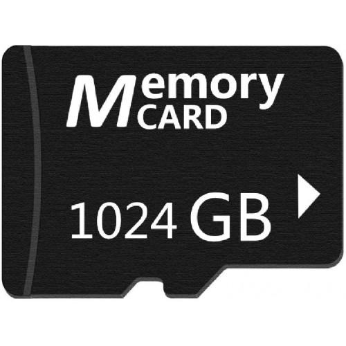 1TB Black Micro Memory SD카드 메모리 카드, One Color