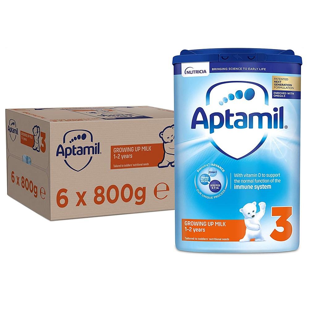 Aptamil 영국 압타밀 3단계 Growing Up 분유 (6개x800g)