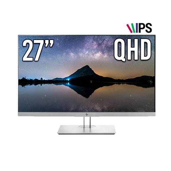two1mall [HP] EliteDisplay 27인치 와이드 모니터 QHD 60Hz / HDMI DP포트 D-SUB 플리커 프리 블루라이트 차단 눈부심 방지, 441709