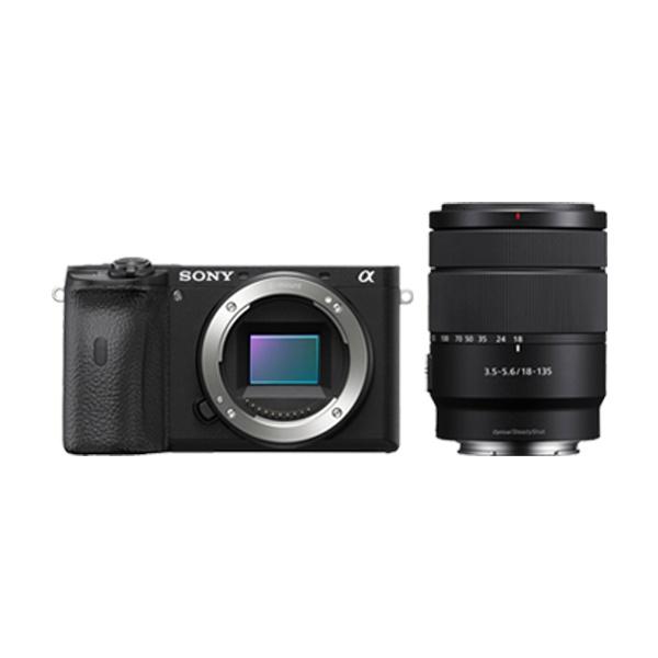 (소니 A6600 + 18-135mm 렌즈 KIT (ILCE-A6600M (소니코리아 정품 정품/렌즈/소니코리아/소니, 단일 모델명/품번