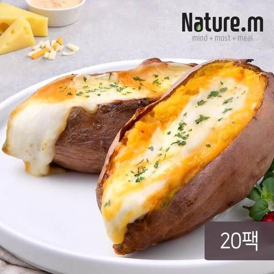 네이처엠 치즈품은 고구마 120gx20팩2.4kg, 없음, 상세설명 참조