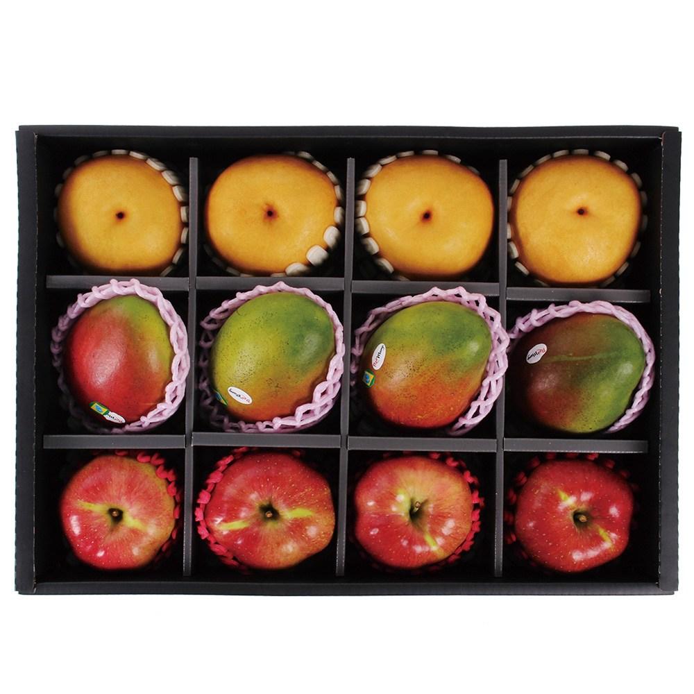 명일원 애플망고 사과 배 혼합 과일 세트