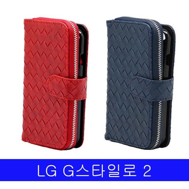투먼 LG 지스타일로2 비니쉬 지퍼월렛 F720 케이스 핸드폰카드케이스