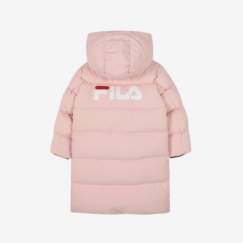 휠라키즈FILAKIDS FK2DJC4111X_SKK 키즈에이스롱다운 자켓 핑크 20년FW인기다운패딩