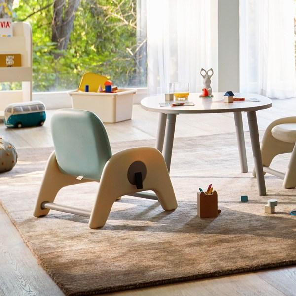 일룸 [일룸] 큐티 유아 책상의자세트 아동책상, 그레이+파스텔 핑크(GYMLP)