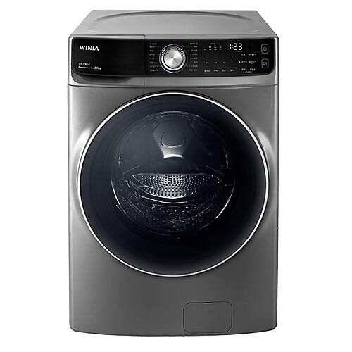 위니아딤채 WWD23GDD 드럼세탁기 23kg 크린스팀 크린샷 인버터모터 다크실버, 세탁기/세탁기
