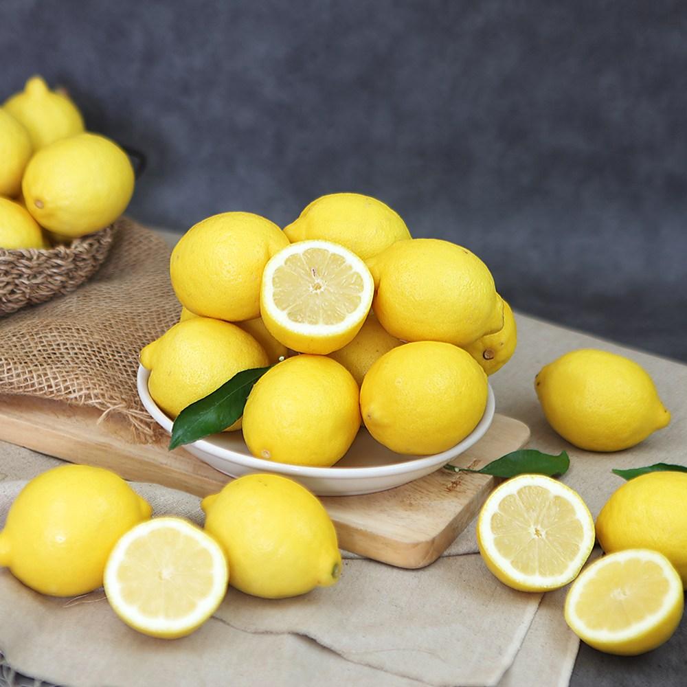 [장보남] 직수입 팬시 레몬 대용량 10kg, 1박스