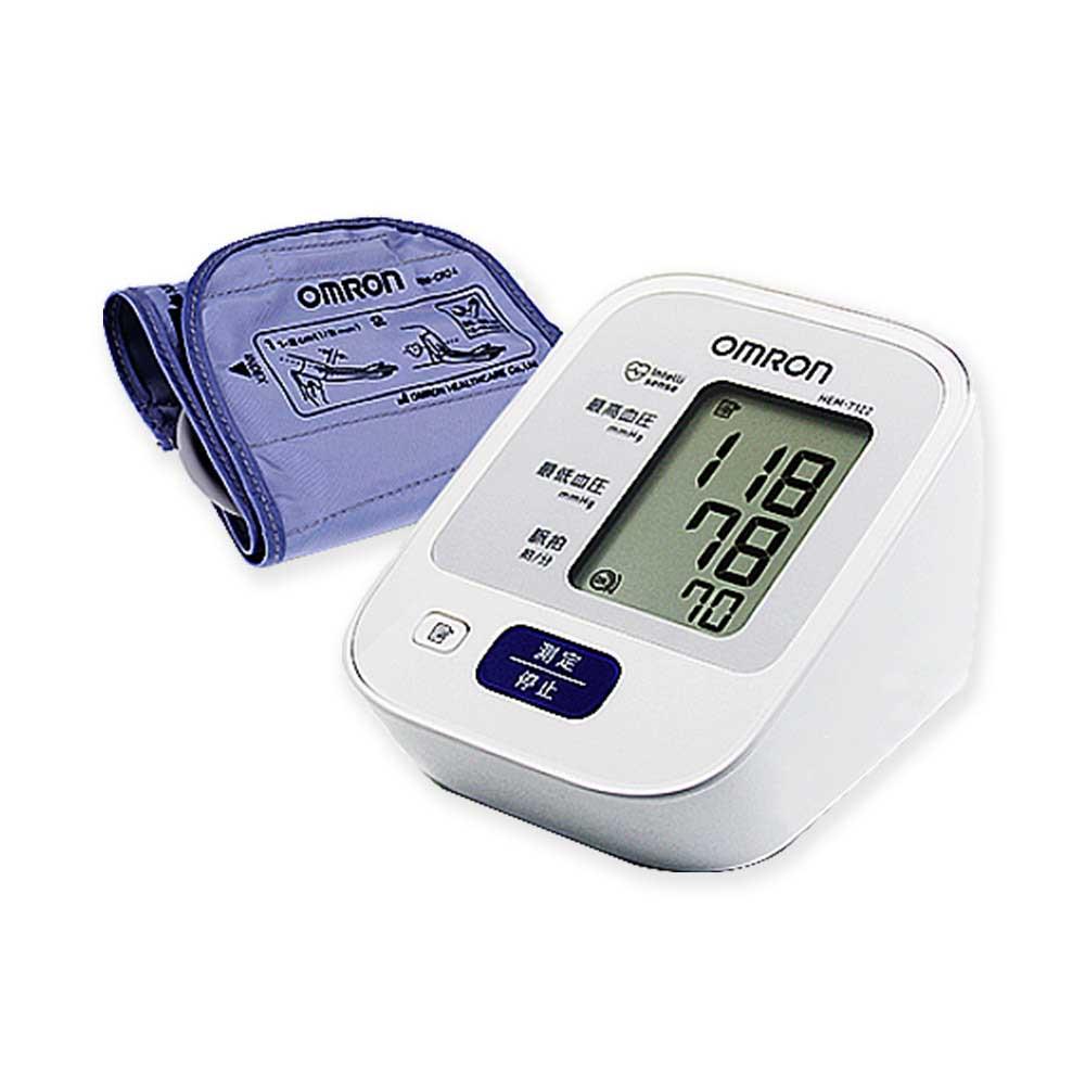OMRON HEM-7122 오므론 혈압계 30메모리 혈압측정 부정맥 일본산, 1대