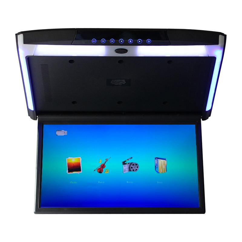 헤드레스트형모니터 선명한 오락 wifi15-17-19inch차량용 천장흡입식 TV mp5차량용 뒷줄 모니터 안드로이드, T10-17inch선명한 MP5(블랙)