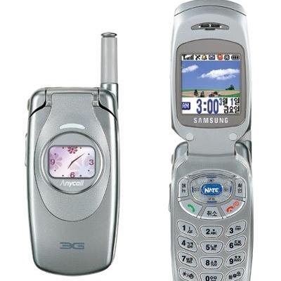 삼성 sch-e120 가개통 새제품 초 미니폰 올드폰 수집 소장 폴더폰 미니 슬림폰, 고급실버